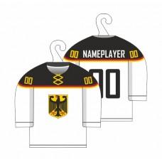 Minidres Nemecko - biela