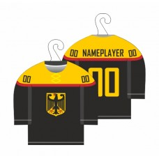 Minidres Nemecko - čierna