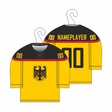 Minidres Nemecko - svetlo žltá