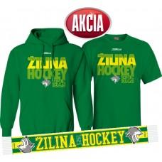 AKCIA MsHK ŽILINA - Mikina + tričko + šál LEN 33,33 €