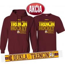 AKCIA HK DUKLA TRENČÍN - Mikina + tričko + šál LEN 33,33 €