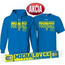 AKCIA MFK ZEMPLÍN MICHALOVCE - Mikina + tričko + šál LEN 33,33 €