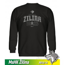 Bavlnená detská mikina MsHK Žilina 2013/14 - čierna