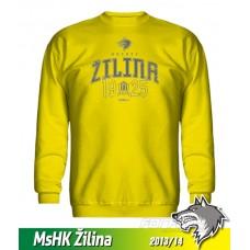 Bavlnená detská mikina MsHK Žilina 2013/14 - žltá