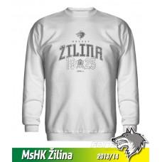 Bavlnená detská mikina MsHK Žilina 2013/14 - biela
