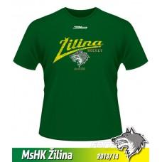 Detské tričko MsHK Žilina 2013/14 - retro - zelená