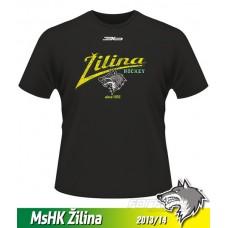 Detské tričko MsHK Žilina 2013/14 - retro - čierna