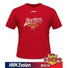 Detské tričko HKM Zvolen 2013/14 - retro - červená