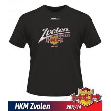 Detské tričko HKM Zvolen 2013/14 - retro - čierna