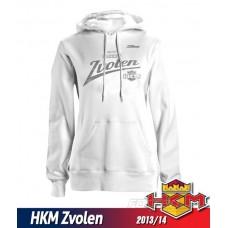 Dámska mikina s kapucňou HKM Zvolen 2013/14 vz. 2 - biela
