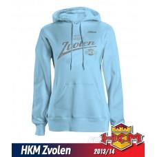Dámska mikina s kapucňou HKM Zvolen 2013/14 vz. 2 - belasá
