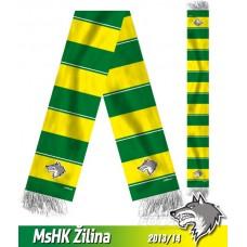 Šál MsHK Žilina 2013/14 - verzia 2
