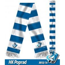 Šál HK Poprad 2013/14 - verzia 2