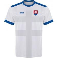 Slovenský futbalový dres 2016 - biely