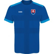 Slovak football jersey 2016- royal