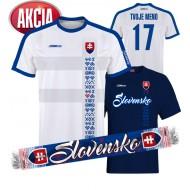 Slovenský futbalový dres + Tričko + Šál  33,33 €