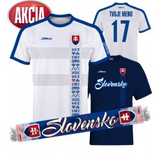 Slovak football jersey + T - shirt + scarf JUST 33,33€