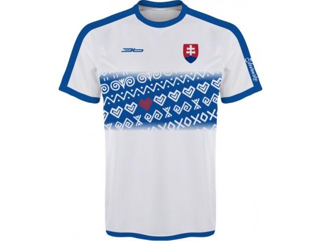 Slovenský dres s ľudovými vzormi 2 - svetlý