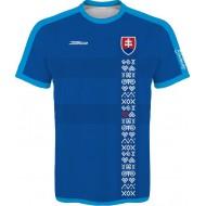 Slovenský dres s ľudovými vzormi 1 - tmavý