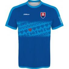 Slovenský dres s ľudovými vzormi 2 - tmavý