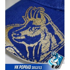 Čiapka HK Poprad modrá - royal modrá