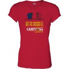 Dámske SlimFit tričko Penya Barcelonista Eslovaca vz. 7
