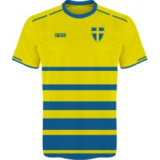 Fanúšikovský dres Švédsko vz. 3