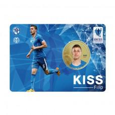 Pamätná karta s mincou Filip Kiss