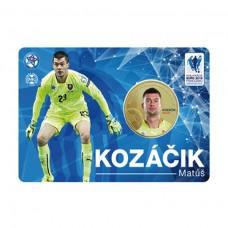 Pamätná karta s mincou Matúš Kozáčik