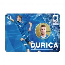 Pamätná karta s mincou Ján Ďurica