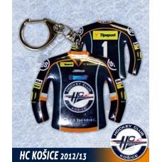 Prívesok dres HC Košice tmavá verzia