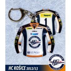 Prívesok dres HC Košice svetlá verzia