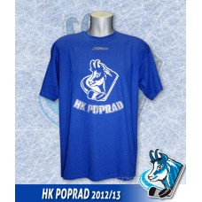 Bavlnené tričko HK Poprad modré