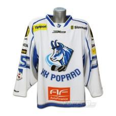 Hokejový dres HK Poprad 2011/12 AUTHENTIC svetlá verzia