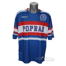 HK Poprad subli tričko Retro Collection - tmavá verzia - royal modrá
