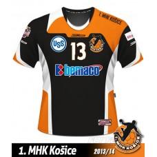 Hadzanársky dres 1.MHK Košice 2013/14 tmavá verzia