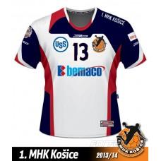 Hadzanársky dres 1.MHK Košice 2013/14 svetlá verzia