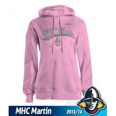 Dámska mikina MHC Martin 2013/14 - ružová