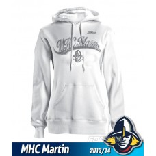 Dámska mikina MHC Martin 2013/14 - biela