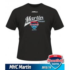 Detské tričko MHC Martin 2013/14 - retro - čierna
