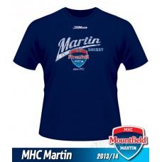 Detské tričko MHC Martin 2013/14 - retro - modrá–tmavomodrá