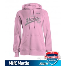 Dámska mikina s kapucňou MHC Martin 2013/14 - ružová