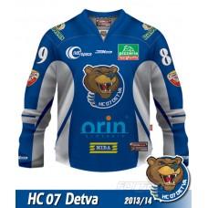 Hokejový dres HC 07 Detva AUTHENTIC 2013/14 - tmavá verzia