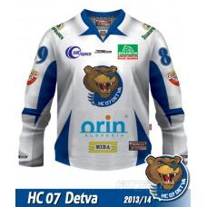 Hokejový dres HC 07 Detva AUTHENTIC 2013/14 - svetlá verzia