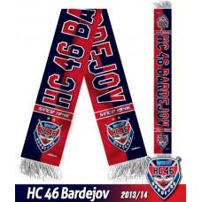 Šál HC 46 Bardejov 2013/14 - verzia 3