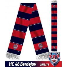 Šál HC 46 Bardejov 2013/14 - verzia 2
