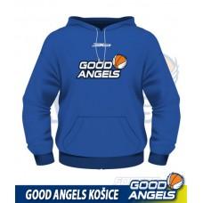 Mikina Good Angels (s kapucňou), modrá
