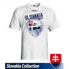 Tričko SLOVENSKO 9 - biela