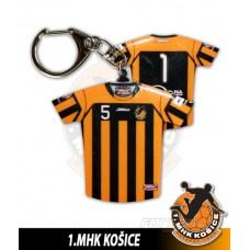 Prívesok dres 1.MHK Košice svetlá verzia