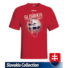 Tričko SLOVENSKO 9 - červená